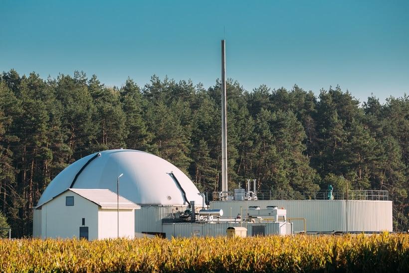 biogasanlage aufbau